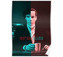 We're Just Alike Poster