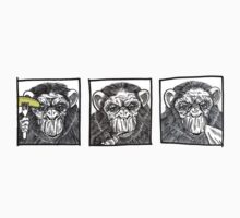 Monkey-eating-banana sequence by Ben Jennings