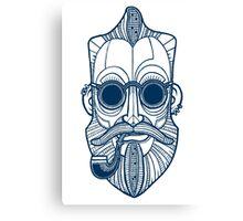 Sea Man in bLUE! Canvas Print