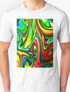 Swirls of Colour Unisex T-Shirt