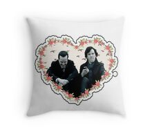 Hearted Sheriarty Throw Pillow