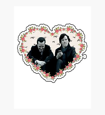 Hearted Sheriarty Photographic Print