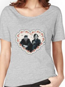 Hearted Sheriarty Women's Relaxed Fit T-Shirt