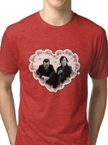 Hearted Sheriarty Tri-blend T-Shirt
