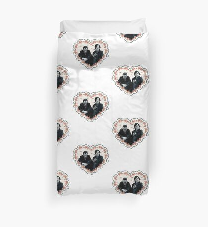 Hearted Sheriarty Duvet Cover