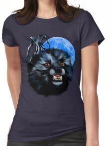 Wolf Snarl Womens Fitted T-Shirt