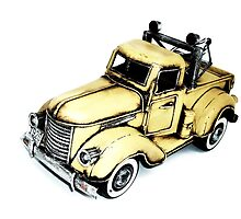 yellow garage-truck by ARTistCyberello