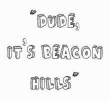 Dude It's Beacon Hills by thescudders