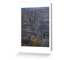 Color Rise SW Flagstaff AZ Greeting Card