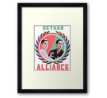 Dethan Alliance Framed Print