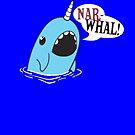Narwhal! poster by Daaxx