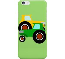 RED TRACTOR GREEN TRACTOR iPhone Case/Skin