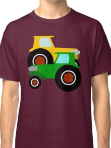 RED TRACTOR GREEN TRACTOR Classic T-Shirt