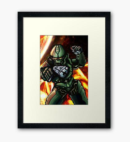 MasterChief Framed Print