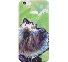 Cairn Terrier Dog Bright colorful pop dog art iPhone Case/Skin