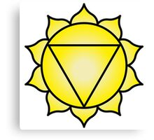 The Solar Plexus Chakra Canvas Print