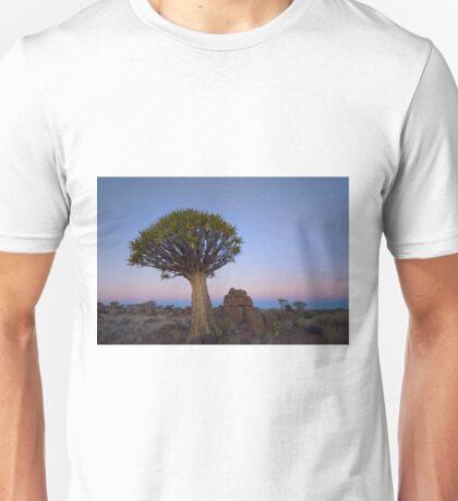Quiver Tree Twilight - Namibia Africa Unisex T-Shirt