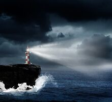 The Lighthouse by Nathalie Chaput