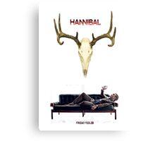 Hannibal S2 - The Countdown Canvas Print