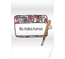 Hello I'm [the Token Human] Poster