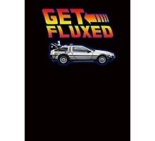 Get fluxed - back to the future parody Photographic Print