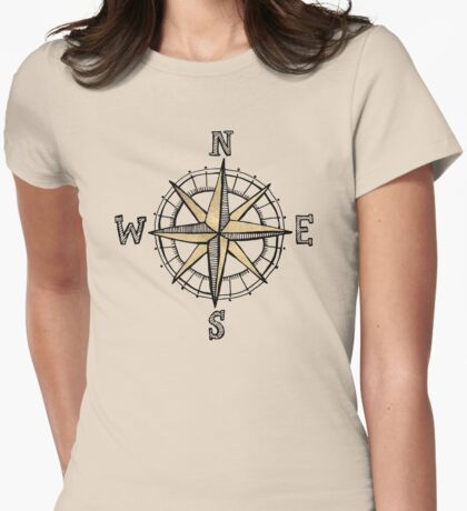 North Womens Fitted T-Shirt