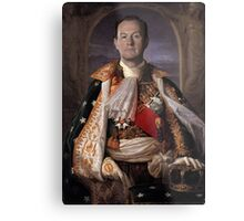 The Current King Of England- Mycroft Holmes Metal Print