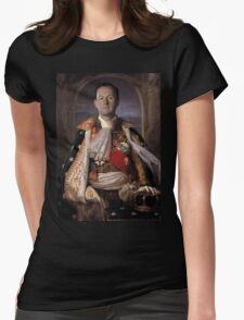 The Current King Of England- Mycroft Holmes Womens Fitted T-Shirt