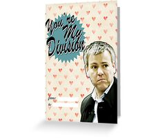Lestrade Valentine's Day Card Greeting Card
