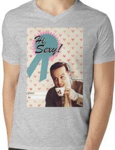 Moriarty Valentine's Day Card Mens V-Neck T-Shirt