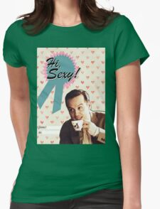 Moriarty Valentine's Day Card Womens Fitted T-Shirt