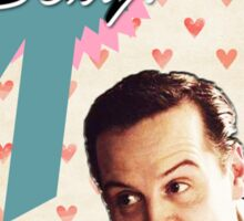 Moriarty Valentine's Day Card Sticker