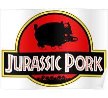 Jurassic Pork Poster