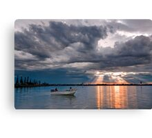 After the Storm - Cleveland Qld Australia Canvas Print