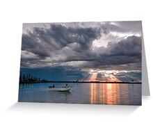 After the Storm - Cleveland Qld Australia Greeting Card