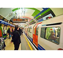 Going Underground: London Piccadily Circus Tube Station Photographic Print