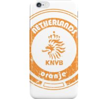 World Cup Football - Team Netherlands (distressed) iPhone Case/Skin