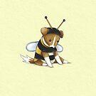 Sprawling Bee by Katie Corrigan