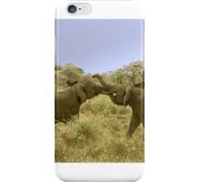Elephant Fight iPhone Case/Skin