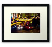 London Red Bus Framed Print