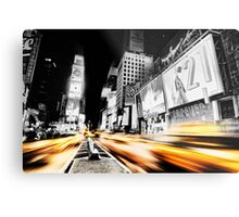 Time Lapse Square Metal Print