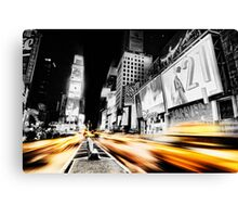 Time Lapse Square Canvas Print