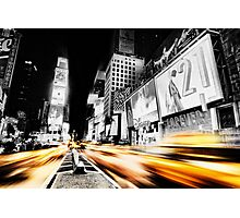 Time Lapse Square Photographic Print