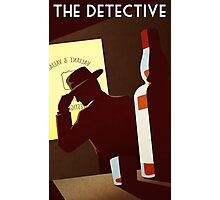 The Detective Photographic Print