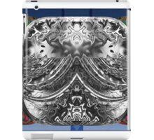 Beveled Silver Reflector iPad Case/Skin
