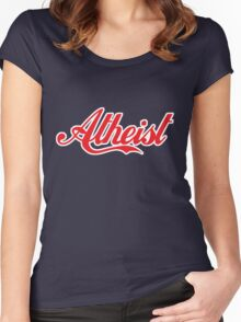 Atheist 'Coke' Design (any background) Women's Fitted Scoop T-Shirt