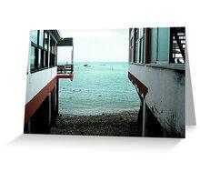 Peaceful View - Spanish Sea Greeting Card