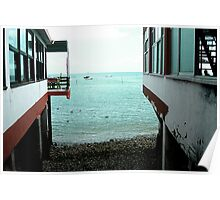 Peaceful View - Spanish Sea Poster