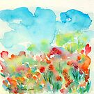 Summer Meadow by Caroline  Lembke