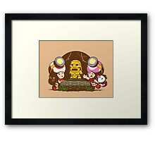 Indiana Toads Framed Print